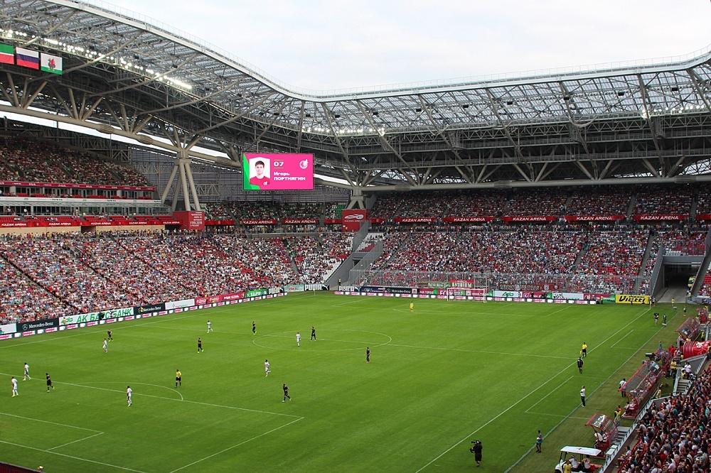 Казань футбол